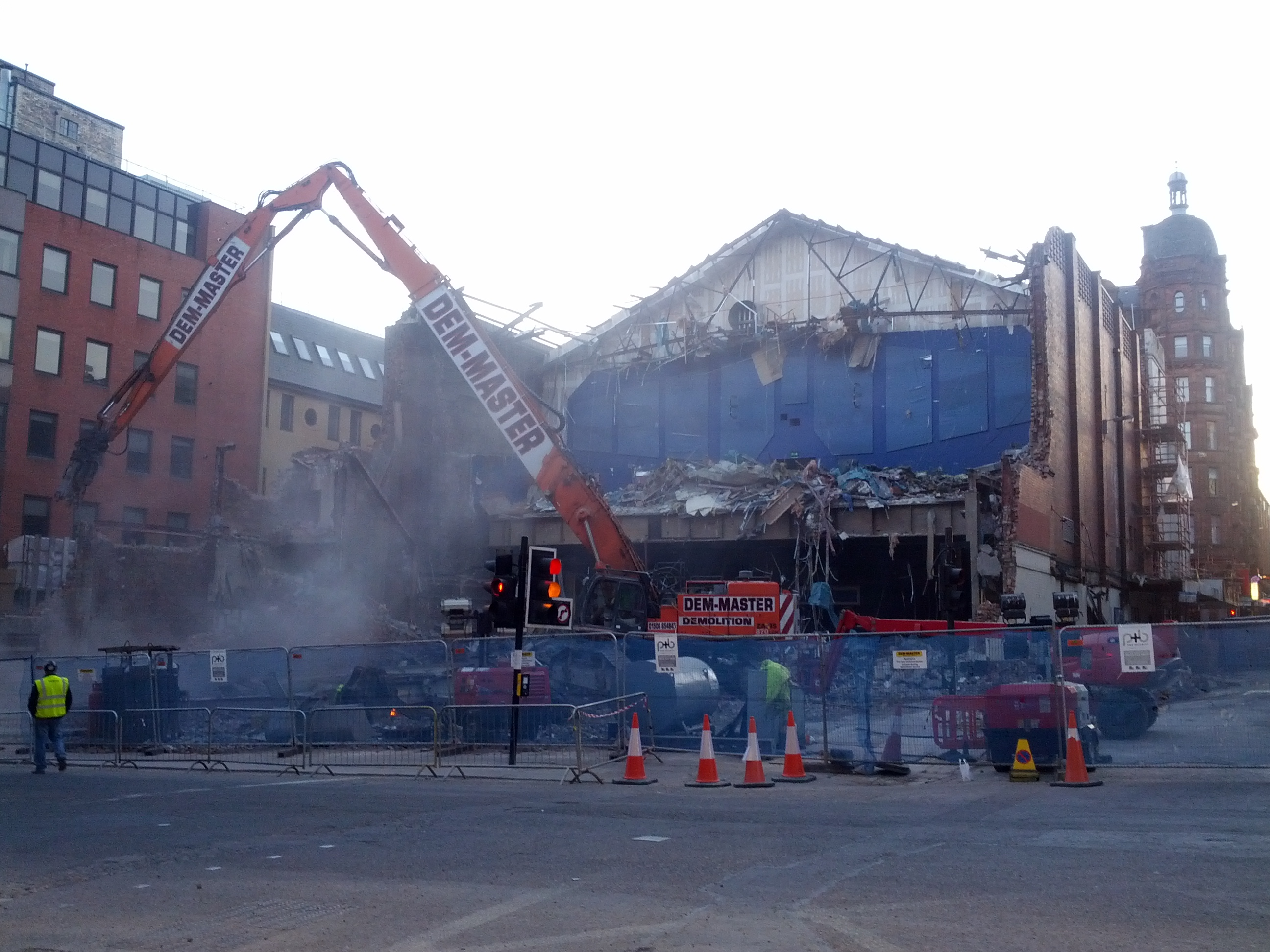 Odeon Cinema Being Torn Down